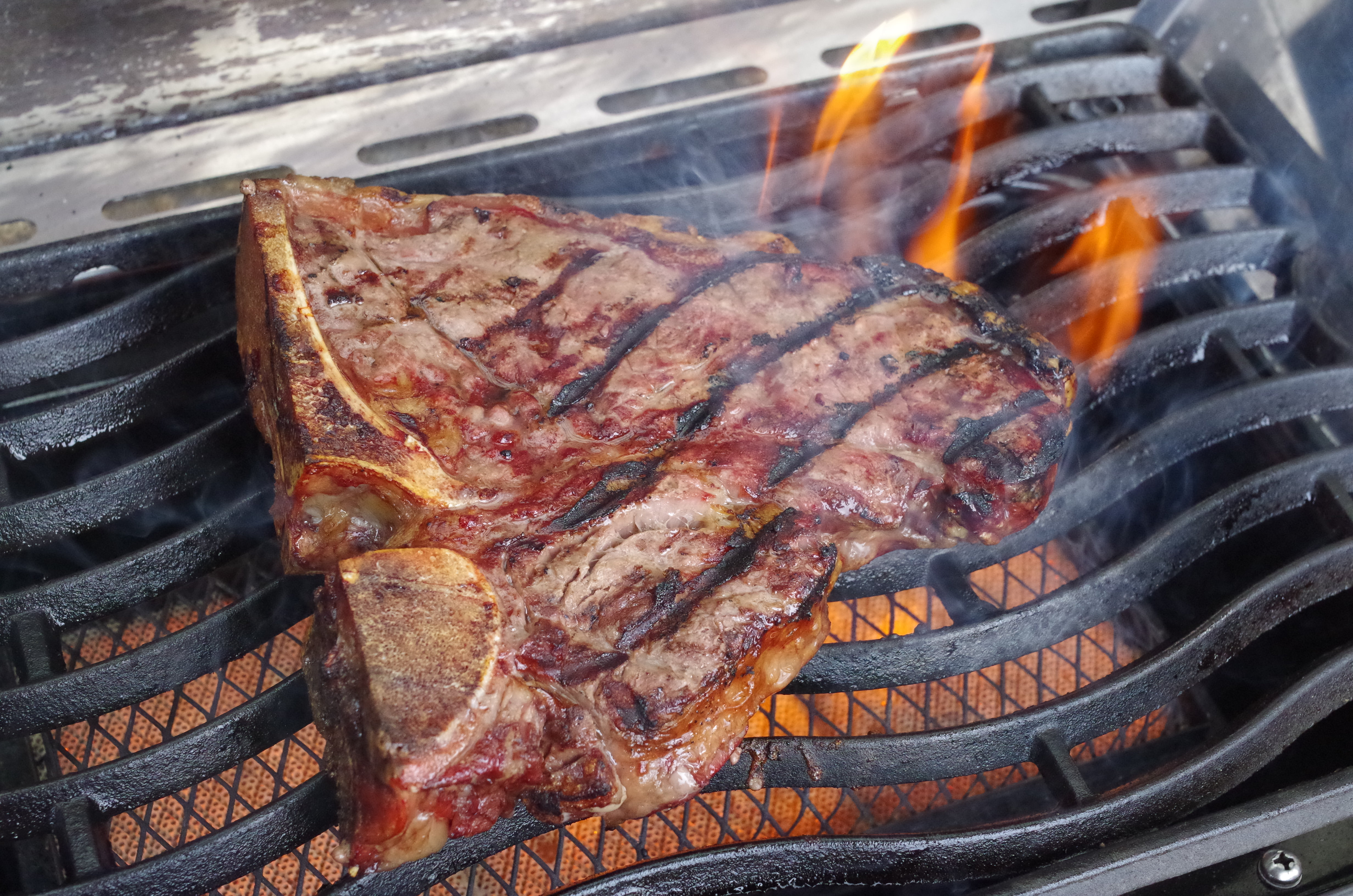 Spareribs Gasgrill Sizzle : Steak rückwärts grillen