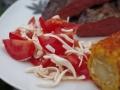 Fadenkäse-Tomatensalat-8
